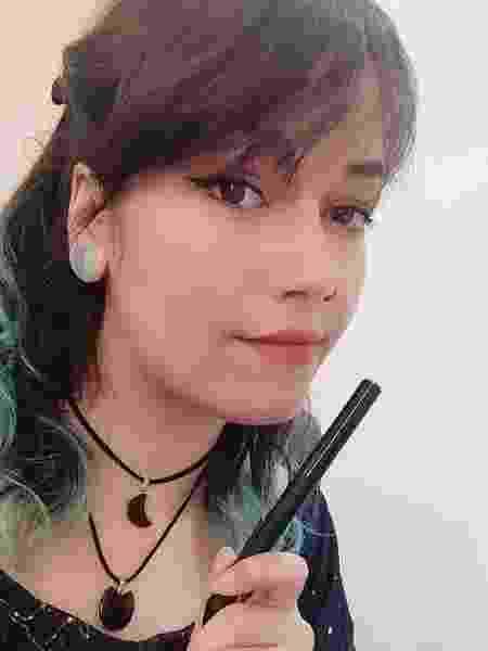 A desenvolvedora de games Kaol Porfírio, 32, acredita que presença feminina tornará campo mais criativo - Arquivo Pessoal