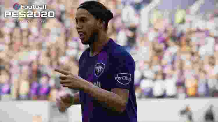 Você vai poder bagunçar defesas com as habilidades do bruxo Ronaldinho  - Divulgação