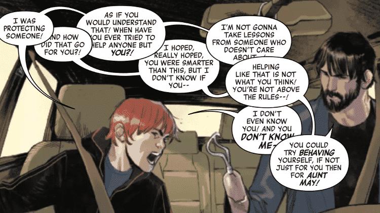 Peter Parker perde uma mão em HQ do Homem-Aranha - Reprodução/Polygon - Reprodução/Polygon