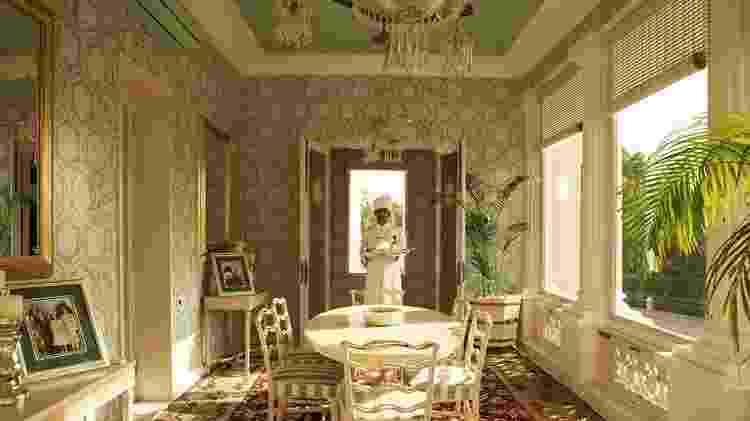 Uma das salas do Raj Mahal Palace - Divulgação