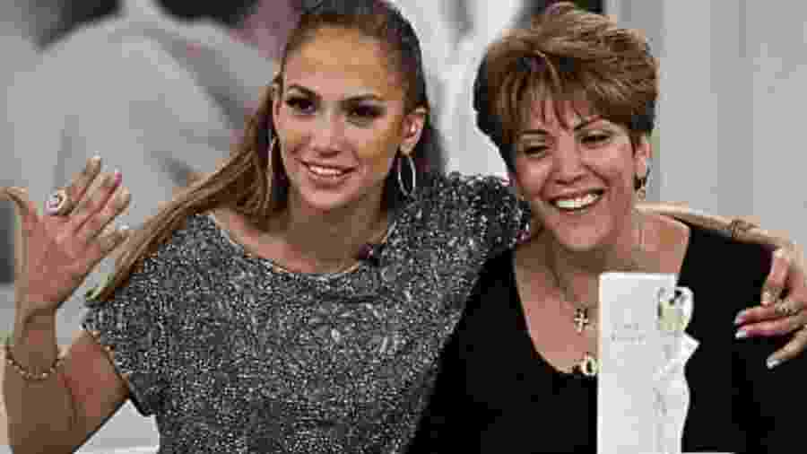 Jennifer Lopez e a mãe, Guadalupe - Reprodução/ Instagram