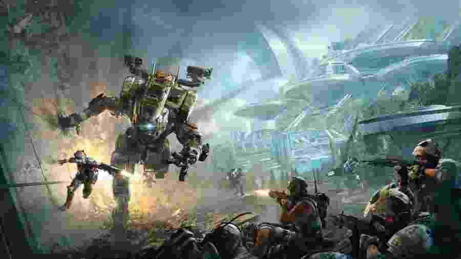 Titanfall 2 é um shooter incomum, com robôs gigantes e corrida pelas paredes - Divulgação