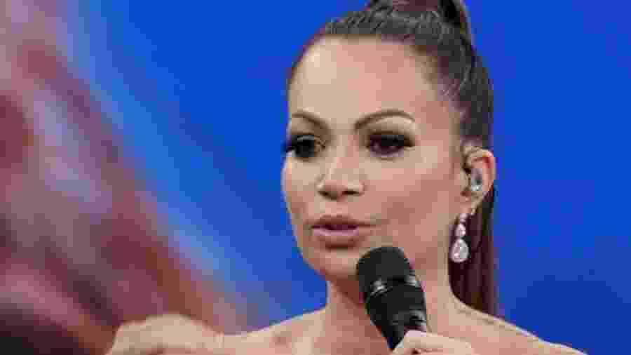 Solange Almeida participa do Domingão do Faustão - Reprodução/Globo