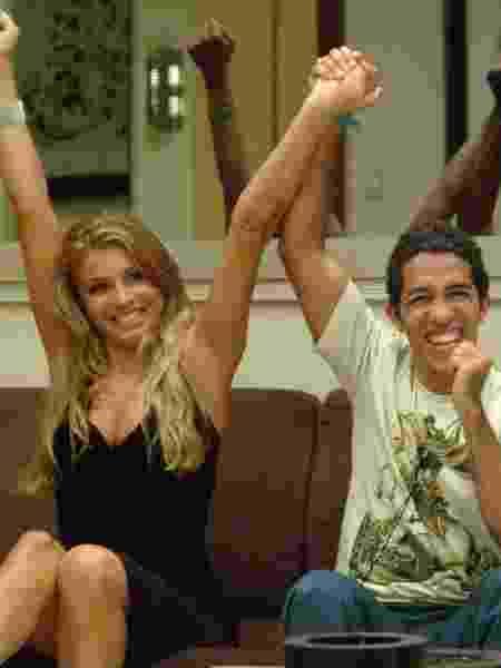 Grazi e Jean chegaram à final do BBB em 2005 e o professor levou o prêmio para casa - Renato Rocha Miranda/Globo