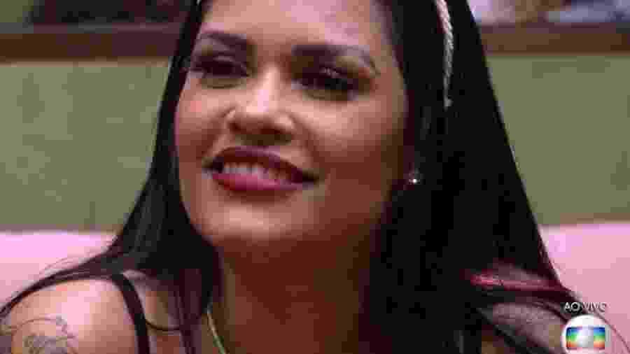 "BBB 20: Flayslane em ""sabatina"" de Tiago Leifert - Reprodução/Globoplay"