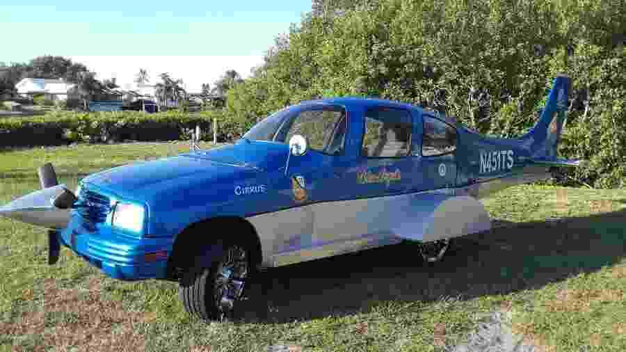 Chevrolet Tracker combinado com avião é leiloado na internet - Divulgação