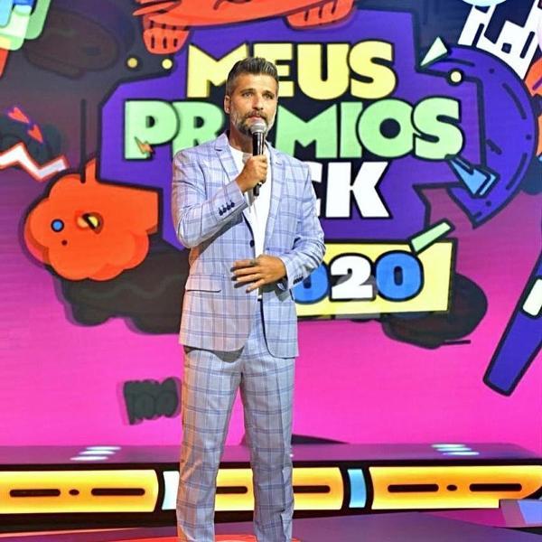 Bruno Gagliasso apresentou o 'Meus Prêmios Nick 2020'