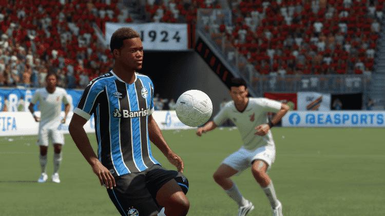 FIFA 21 Grêmio Everticinho - Reprodução/START - Reprodução/START