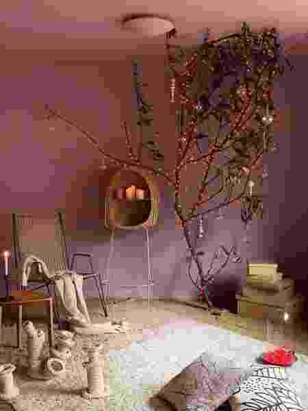 Sala de estar com a cor Meia-Luz - Reprodução/Instagram - Reprodução/Instagram
