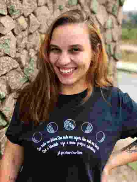 marina camiseta - Arquivo pessoal - Arquivo pessoal