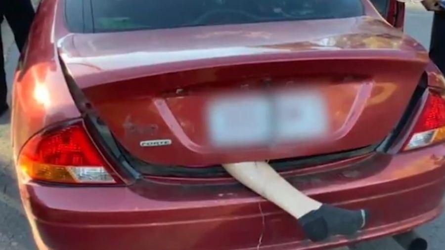 Motorista acabou tendo prejuízo - Reprodução/Twitter