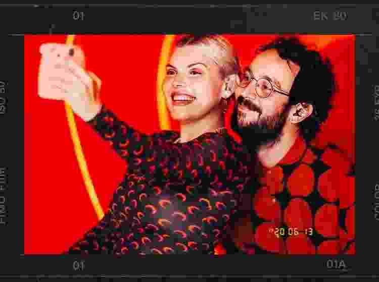 """A cantora namora Tomás, músico da sua banda: """"Experiência de amar e ser amada mostra um lado da moeda que eu não conhecia"""" - Reprodução/Instagram - Reprodução/Instagram"""