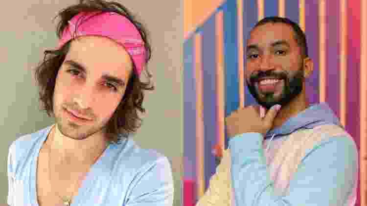 Fiuk e Gil - Reprodução/TV Globo - Reprodução/TV Globo