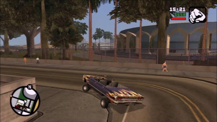 GTA San Andreas PS3 - Reprodução/Rockstar Games