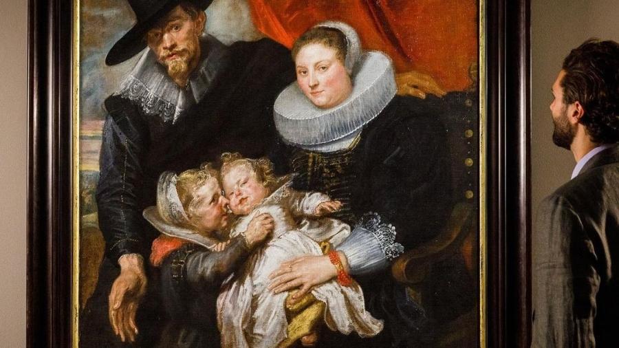 Obra de Van Dyck vai a leilão - Instagram/@sothebys