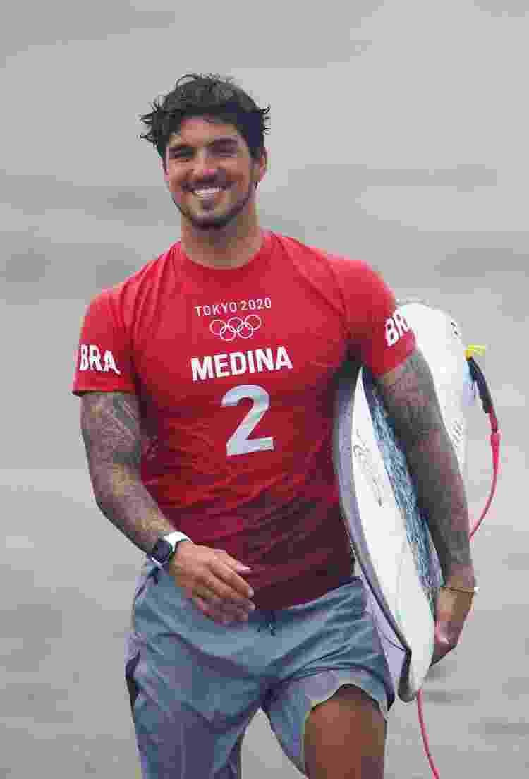 O surfista Gabriel Medina - Lisi Niesner/Reuters - Lisi Niesner/Reuters