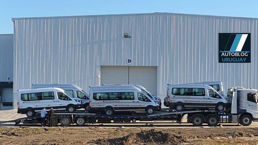 Ford Transit tem imagem vazada - Autoblog Uruguai/Argentina