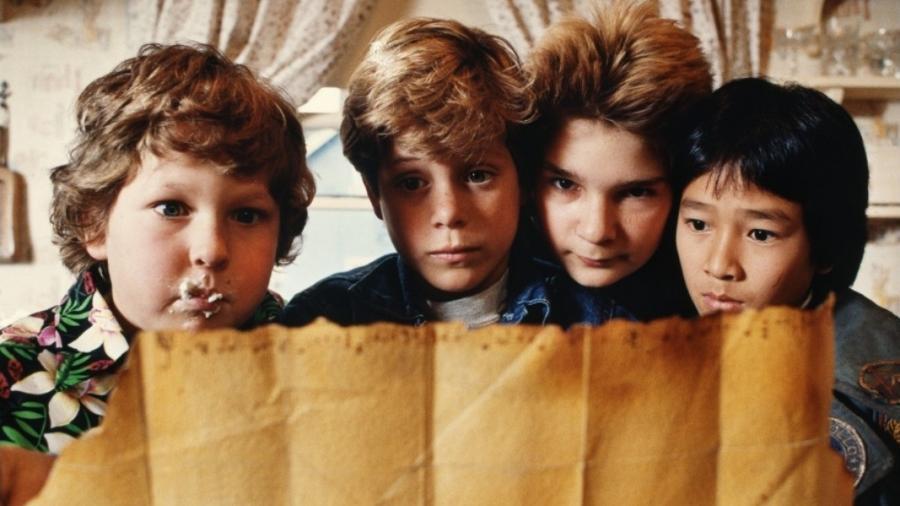 """Cena de """"Os Goonies"""", clássico de 1985 - Reprodução"""