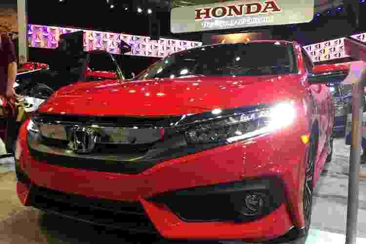 Honda Civic 2016 - André Deliberato/UOL