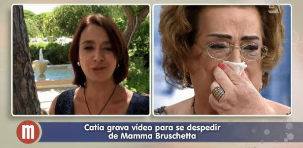 """Mamma Bruschetta confirma convite para outra emissora, mas nega """"puxão de tapete"""" - Reprodução/TV Gazeta"""