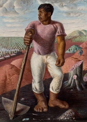 """""""O lavrador de café"""", obra de 1934 - Divulgação / Eduardo Ortega"""