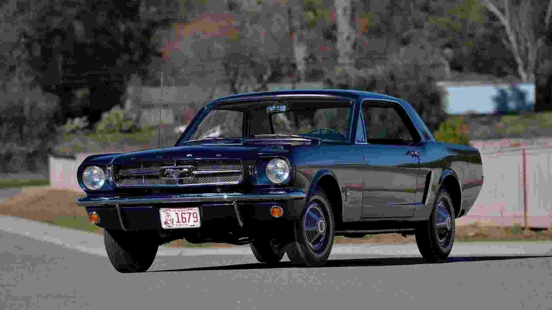 Ford Mustang Coupé 1965 pré-série nº 00002 - Divulgação/Mecum