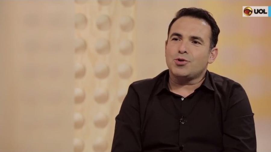 """Reinaldo Gottino dá entrevista a Maurício Stycer no """"UOL Vê TV"""" - Reprodução"""