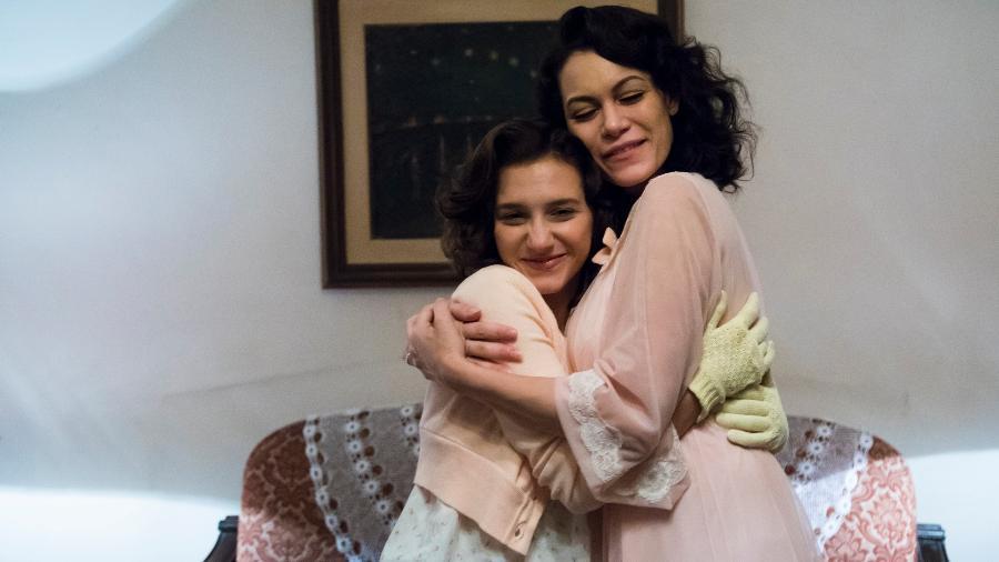 """Lorena Comparato (Dora) e Hermila Guedes (Celeste) em """"Cidade Proibida"""", série da Globo - Cesar Alves/TV Globo"""