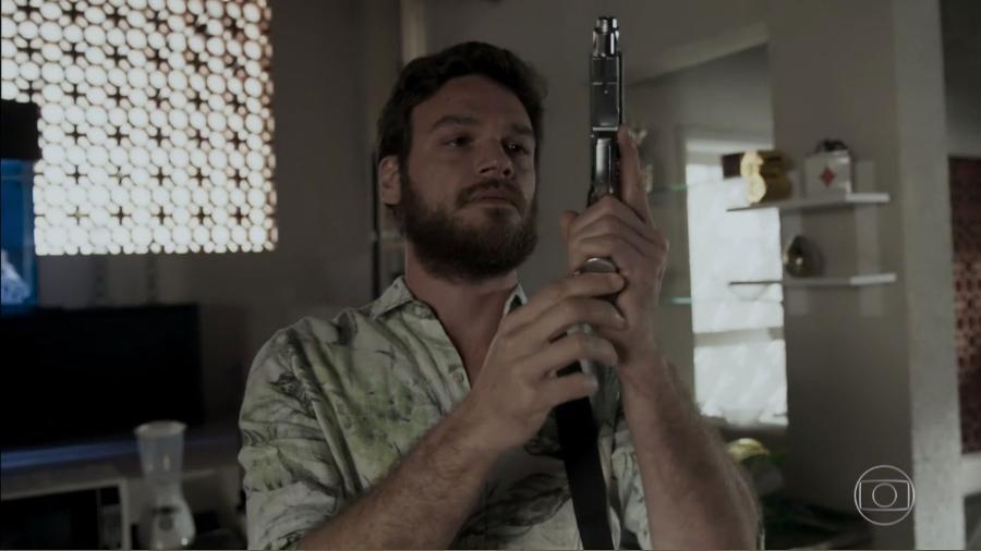 """Rubinho, em """"A Força do Querer"""" - Reprodução/TV Globo"""