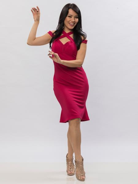 "Geovanna Tominaga vence ""Dancing Brasil"" - Edu Moraes/Record"