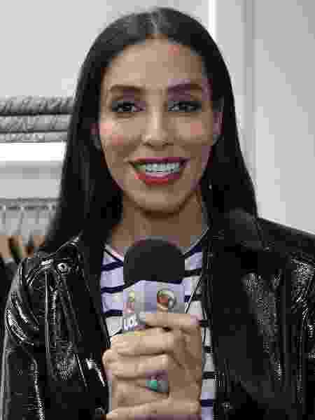 A modelo brasileira Lea T - UOL