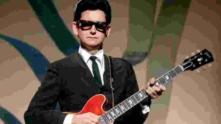 O cantor Roy Orbison - Reprodução