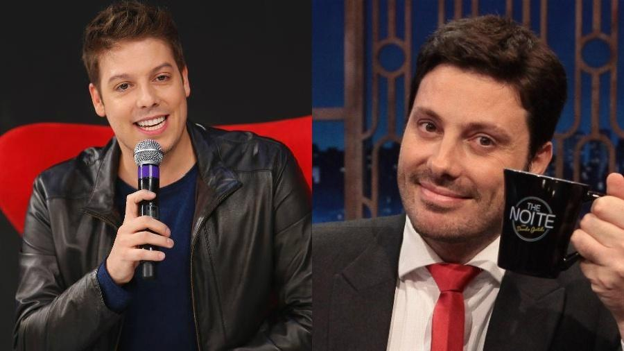 Fábio Porchat e Danilo Gentilli foram dois dos humoristas criticados pelo Detran-RJ - Rodrigo Belantini/SBT/Leonardo Nones/SBT/Montagem UOL