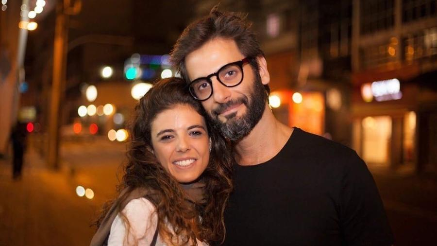 O casal Natalia Gonsales e Flavio Tolezani - Reprodução/Instagram