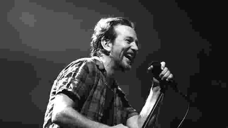 O cantor Eddie Vedder, do Pearl Jam - Reprodução - Reprodução
