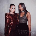 Aqui, a atriz com a modelo Naomi Campbell - Reprodução/Instagram