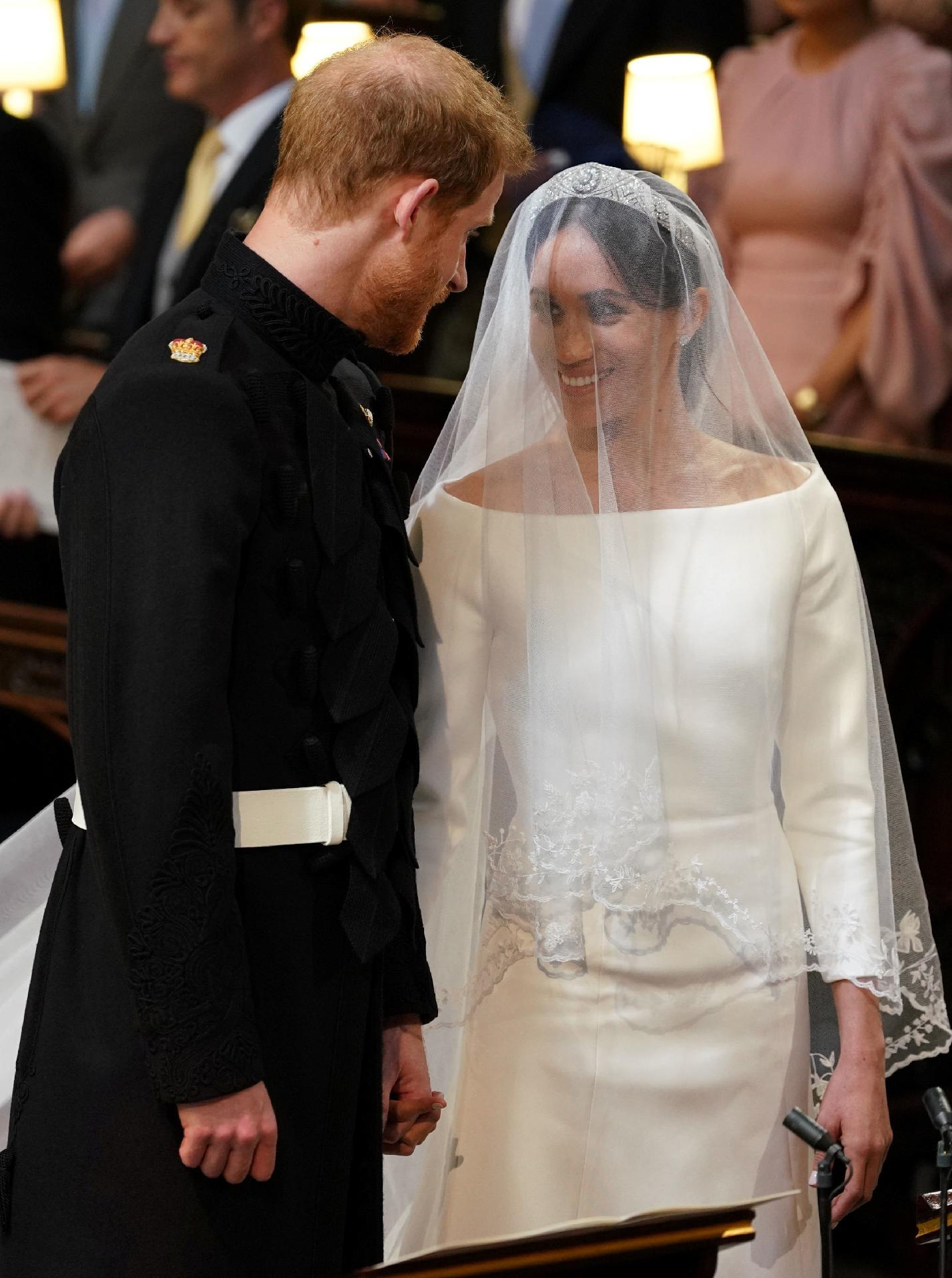 Casamento real 2018  Príncipe Harry e Meghan Markle dizem