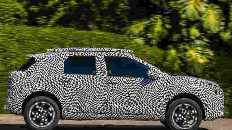 Citroën C4 Cactus camuflagem lateral - Pedro Bicudo/Divulgação - Pedro Bicudo/Divulgação