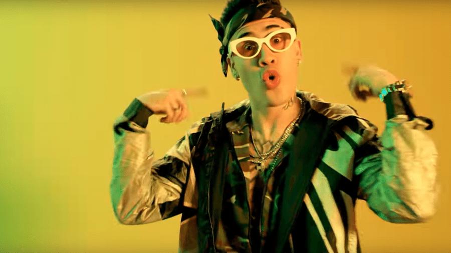 """MC Kevinho no clipe de """"Loko"""", parceria com Major Lazer e Tropkillaz - Reprodução"""