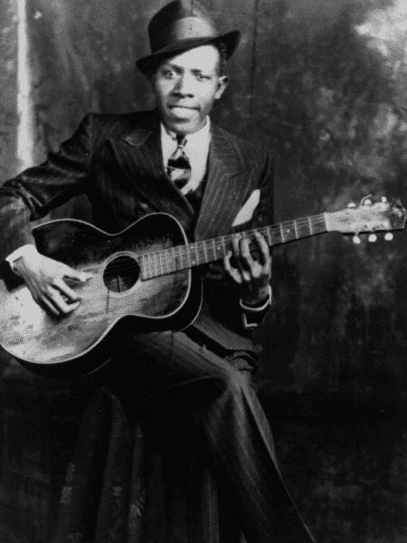 O blueseiro Robert Johnson - Reprodução - Reprodução