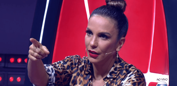 "Ivete Sangalo no ""The Voice Brasil"""