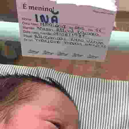 Alexandre Nero publica primeira foto do filho recém-nascido, Inã - Reprodução/Instagram/alexandrenero