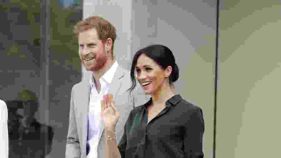 O príncipe Harry e Meghan, a duquesa de Sussex - Getty Images