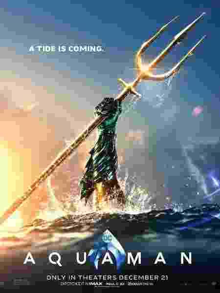 """Pôster de """"Aquaman"""" - Reprodução"""