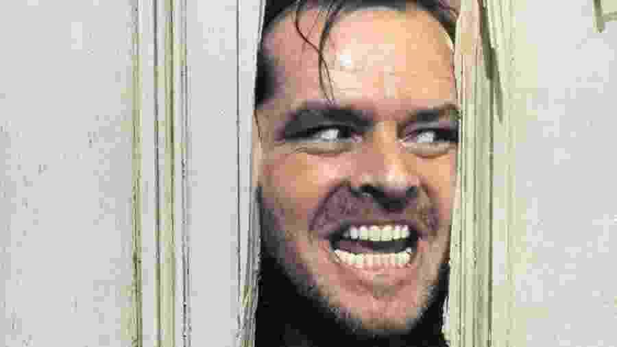 """Jack Nicholson em """"O Iluminado"""" (1980) - Reprodução"""