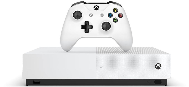 Xbox One sem leitor para jogos em mídia física pode estar em produção - Reprodução/GameHall