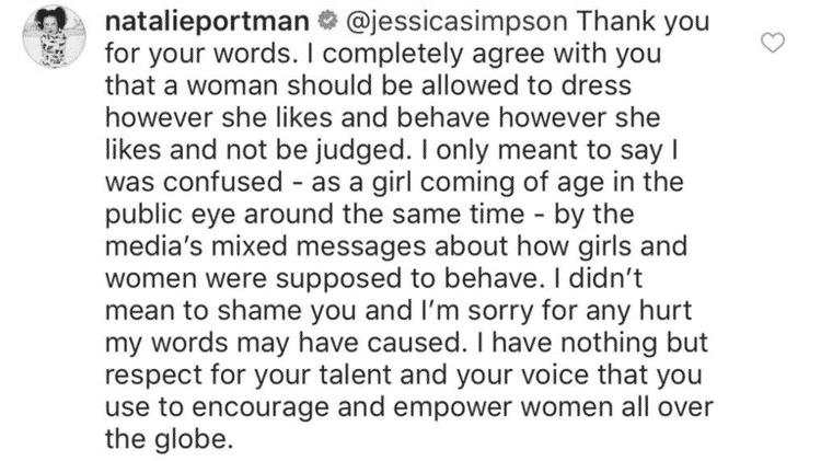 Comentário Natalie - Reprodução/Instagram - Reprodução/Instagram