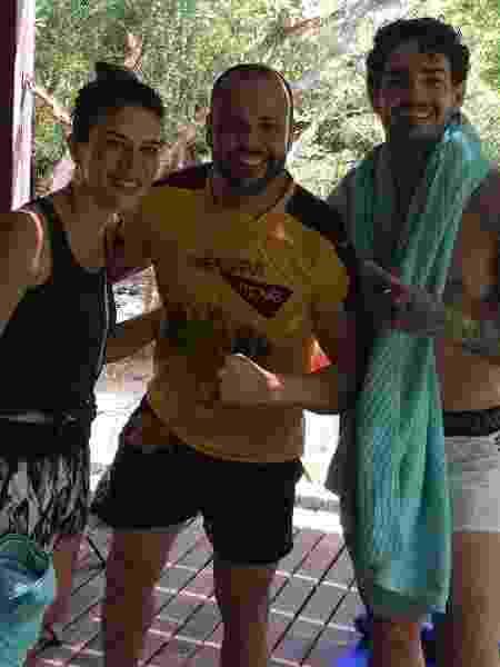 Rebeca Abravanel e Pato são vistos juntos em Trancoso (BA) - Reprodução/Instagram