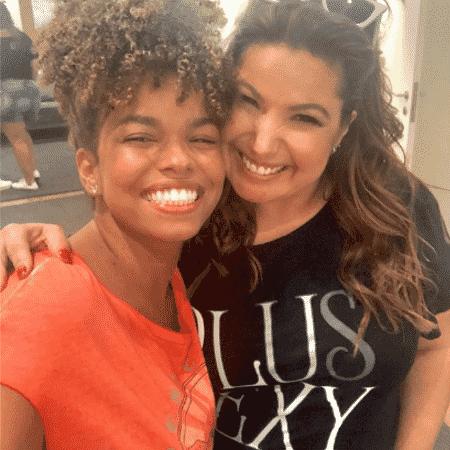 Jeniffer Nascimento e Mariana Xavier - Reprodução/Instagram