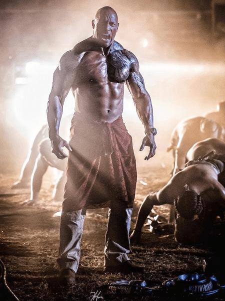 """O ator Dwayne """"The Rock"""" Johnson - Reprodução"""